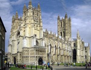 Anglie - Katedrála v Canterbury